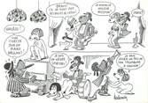 Illustrateur CPSM Barberousse