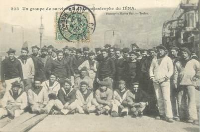 """CPA MARINE MILITAIRE """"Explosion du IENA, 12 mars 1907, Toulon"""""""