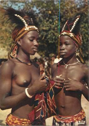 CPSM NU AFRIQUE NOIRE