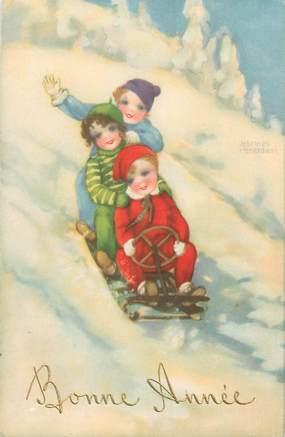 CPA ENFANT dessiné / HANNES PETERSEN