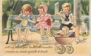 Enfant CPA ENFANT dessiné