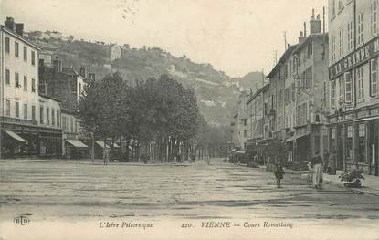 "CPA FRANCE 38 ""Vienne, Cours Romestang"""