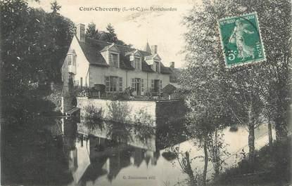 """CPA FRANCE 41 """"Cour Cheverny, Pontchardon"""""""