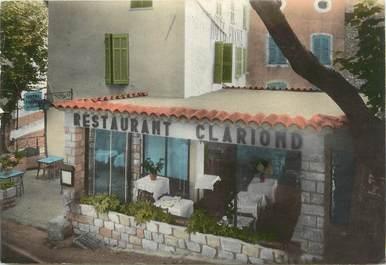 "CPSM FRANCE 83 ""Seillans, Restaurant Clariond"""