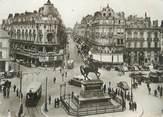 """45 Loiret CPSM FRANCE 45 """"Orléans, Place du Martroi, Statue de Jeanne d'Arc, Rue de la République"""""""