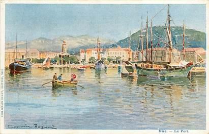 "CPA FRANCE 06 ""Nice, le Port"" / Collection Duret / ILLUSTRÉE"