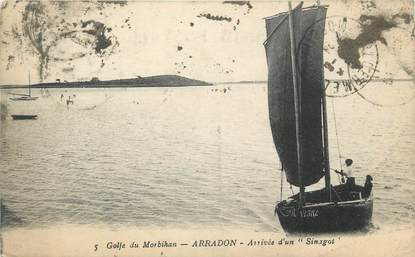 "CPA FRANCE 56 ""Arradon, Golf du Morbihan"""
