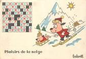 Illustrateur CPSM ILLUSTRATEUR BARBEROUSSE / MOTS CROISES