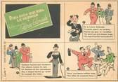 """Theme CPSM PUBLICITE CHARLIE CHAPLIN """"La loterie coloniale"""""""