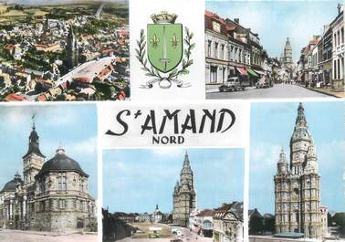 """CPSM FRANCE 59 """"St Amand les Eaux"""""""
