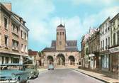 """08 Ardenne CPSM FRANCE 08 """"Vouziers, Eglise, Rue Chanzy"""""""