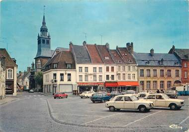 """CPSM FRANCE 62 """"Hesdin, Place d'Armes"""""""