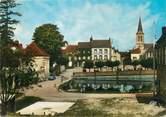"""61 Orne CPSM FRANCE 61 """"Moulins la Marche, Etang, Eglise"""""""