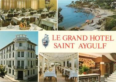 "CPSM FRANCE 83 ""Saint Aygulf, Grand Hotel"""