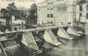 """59 Nord CPA FRANCE 59 """"Maubeuge, barrage sur la Sambre"""""""