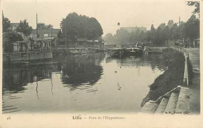 """CPA FRANCE 59 """"Lille, pont de l'Hippodrome"""""""