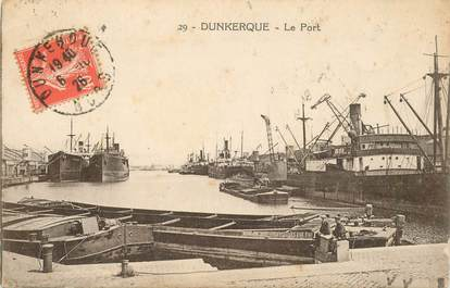 "CPA FRANCE 59 ""Dunkerque, le port"""