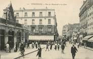 """94 Val De Marne CPA FRANCE 94 """"Vincennes, rue de Montreuil et la gare"""""""