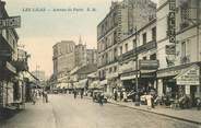 "93 Seine Saint Deni CPA FRANCE 93 ""Les Lilas, avenue de Paris"""