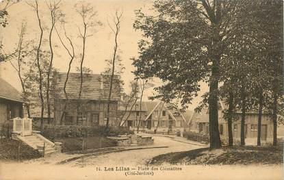 """CPA FRANCE 93 """"Les Lilas, Place des Clématites"""""""