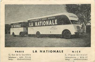 cpa france 06 nice camion de d m nagement la nationale 06 alpes maritimes nice 06 ref. Black Bedroom Furniture Sets. Home Design Ideas