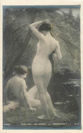 RARE CPA NU / SALON DE PARIS 1903 COULEUR / ETAT LUXE