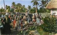 "France CPSM NOUVELLE CALEDONIE ""Danse indigène"""