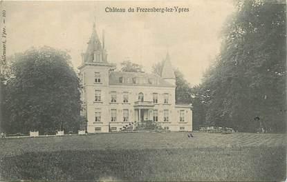 """CPA BELGIQUE """"Chateau du Frezenberg lez Ypres"""""""