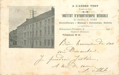 """CPA BELGIQUE """"Bonsecours, Institut d'Hydrothérapie médicale"""""""