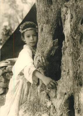 """CPSM MAROC """"Petite fille de la région de Sefrou"""" / N°82 PHOTO EDITION BERTRAND ROUGET CASABLANCA"""