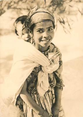 "CPSM MAROC ""Jeune fille du Rif marocain"" / N°182 PHOTO EDITION BERTRAND ROUGET CASABLANCA"