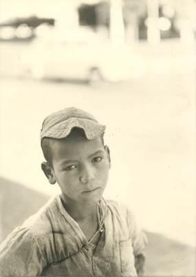 """CPSM MAROC """"Meknès, jeune enfant"""" / N° 201 PHOTO EDITION BERTRAND ROUGET CASABLANCA"""