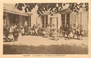 """56 Morbihan CPA FRANCE 56 """"Vannes, La Providence, un groupe de pensionnaires"""""""