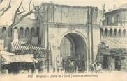 """84 Vaucluse CPA FRANCE 84 """"Avignon, porte de l'Oulle"""""""
