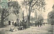 """84 Vaucluse CPA FRANCE 84 """"Avignon, place des Carmes"""""""