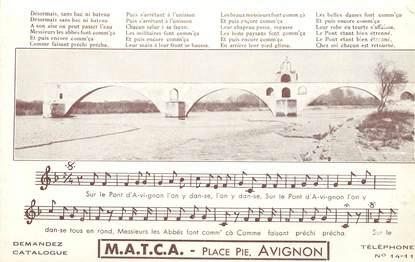 "CPA FRANCE 84 ""Avignon"""