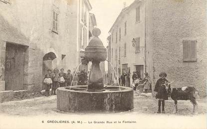 "CPA FRANCE 06 ""Gréolières"""