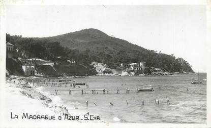 "/ CARTE PHOTO FRANCE 83 ""Saint Cyr, la Madrague d'Azur"""