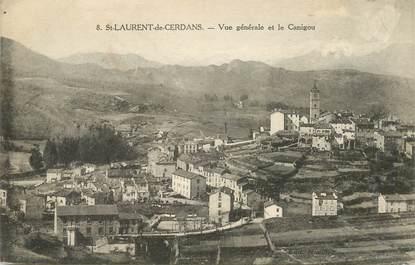 """CPA FRANCE 66 """"saint Laurent de Cerdans"""""""