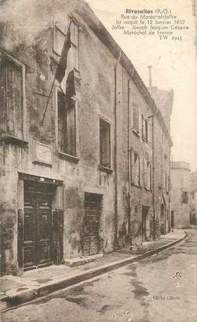 "CPA FRANCE 66 ""Rivesaltes, rue du Mal Joffre"""