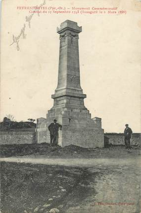 "CPA FRANCE 66 ""Peyrestortes, monument aux morts"""