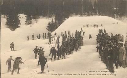 """CPA SKI """"Concours de ski au Pailly"""""""