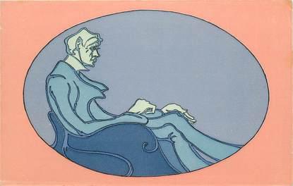 CPA WIENER WERKSTAETTE N° 977 / Fausse carte mais rare et répertoriée dans catalogue spécialisé (cote 400 euros)