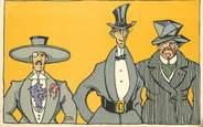Illustrateur CPA WIENER WERKSTAETTE N° 979 / Fausse carte mais rare et répertoriée dans catalogue spécialisé (cote 400 euros)