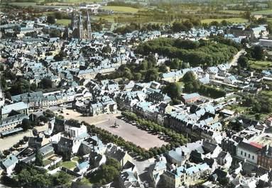 """/ CPSM FRANCE 14 """"Bayeux, place Saint Patrice"""""""