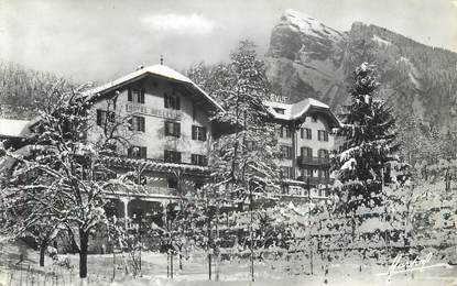 "CPSM FRANCE 74 ""Samoens, hotel Bellevue"""