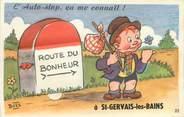 "74 Haute Savoie CPA FRANCE 74 ""Saint Gervais les Bains"" / CARTE A SYSTEMES"