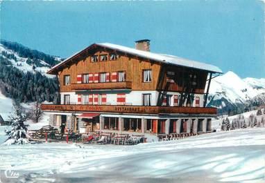 """CPA FRANCE 74 """"Les Gets, Restaurant le Caribou"""""""
