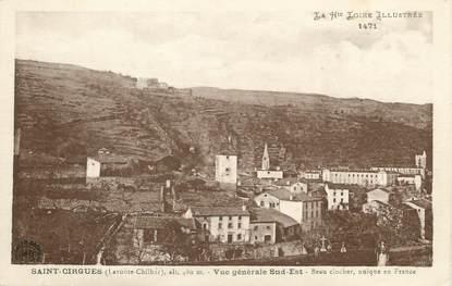 """/ CPA FRANCE 43 """"Saint Cirgues, vue générale sud Est"""""""