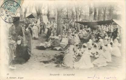 "CPA ALGERIE ""Boufarik, le marché"" / GEISER"